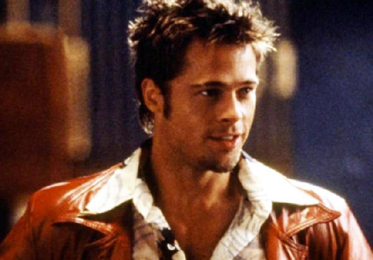 Brad Pitt S Hair In Fight Club 25 Best Ideas About