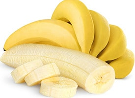 natural preworkout bananas