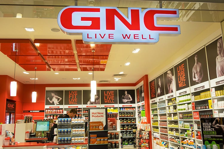 gnc whey protein store