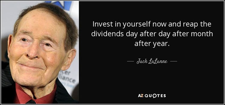 invest in yourself jack lallane