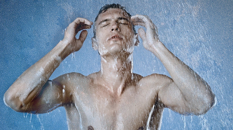 cold showers to get shredded