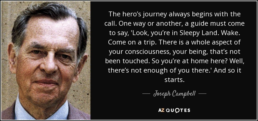 Joseph Campbell hero's journey examples