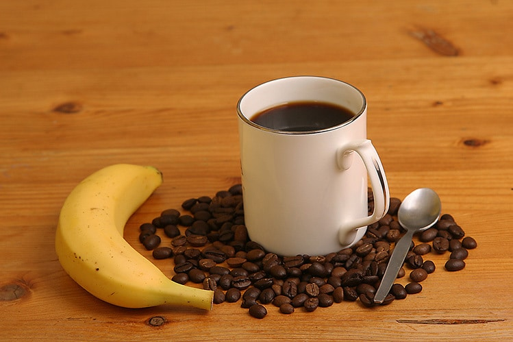 coffee with banana