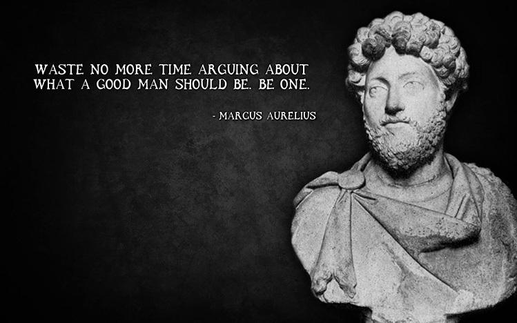manly man quotes marcus aurelius