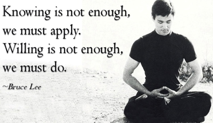 bruce lee masculinity quotes