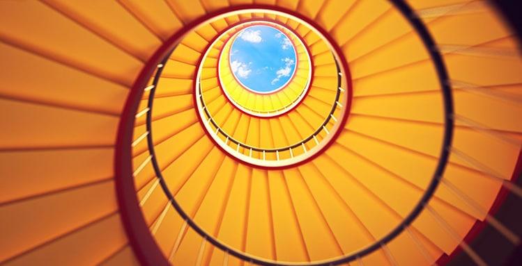 succeed with upward spirals