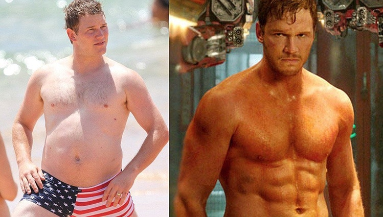 chris pratt workout