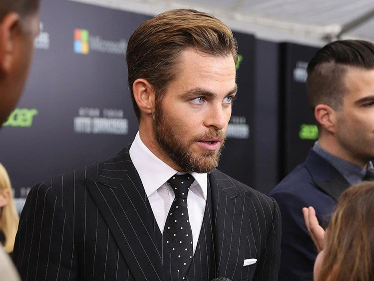 chris pine female hypergamy