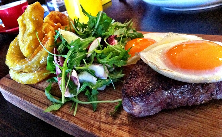 steak and eggs diet side effects