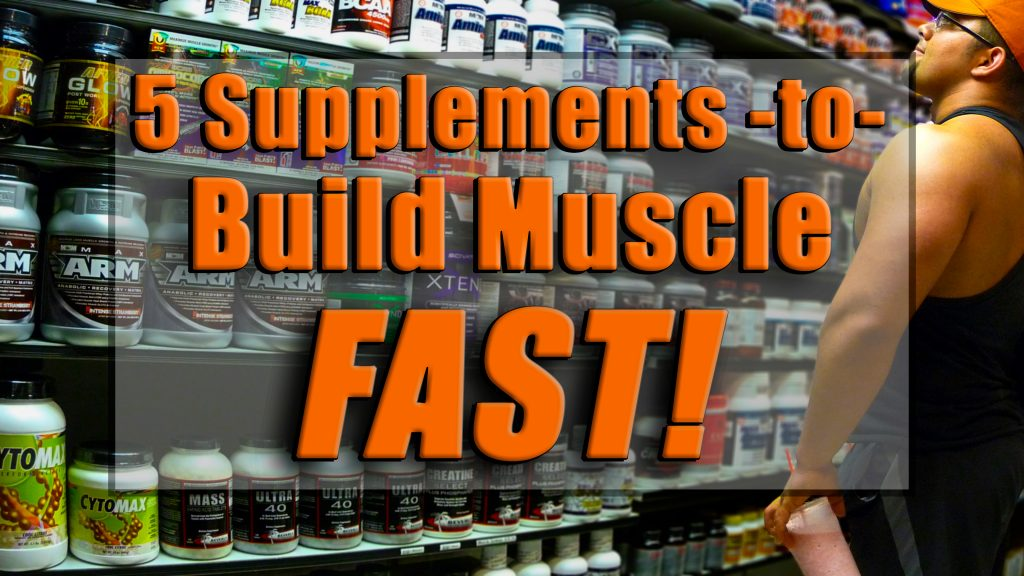 supplements build muscle fast