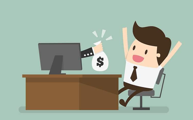 make money online happy guy