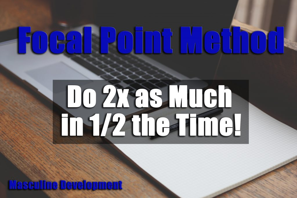 Focal Point Brian Tracy ABCDE Method Productivity