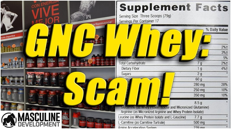 gnc whey protein review