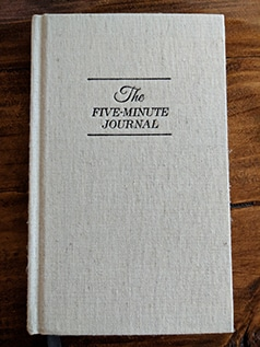 masculine development gratitude journal