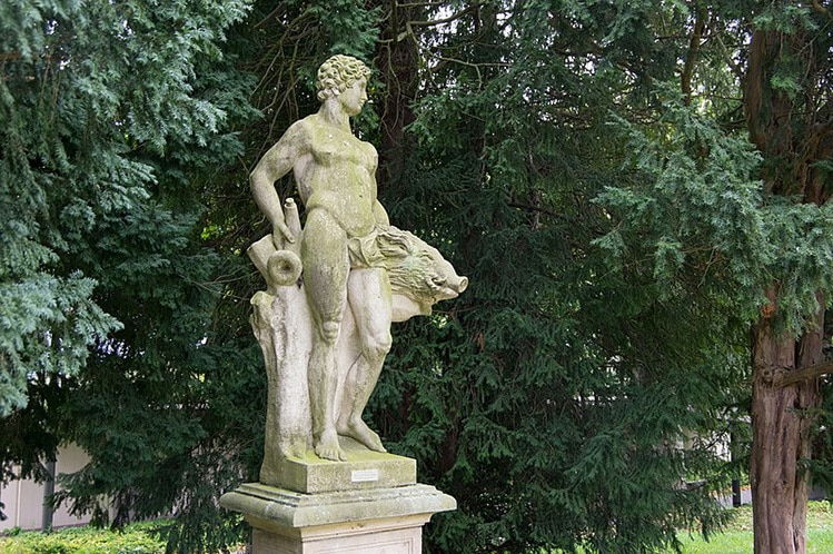 adonis statue