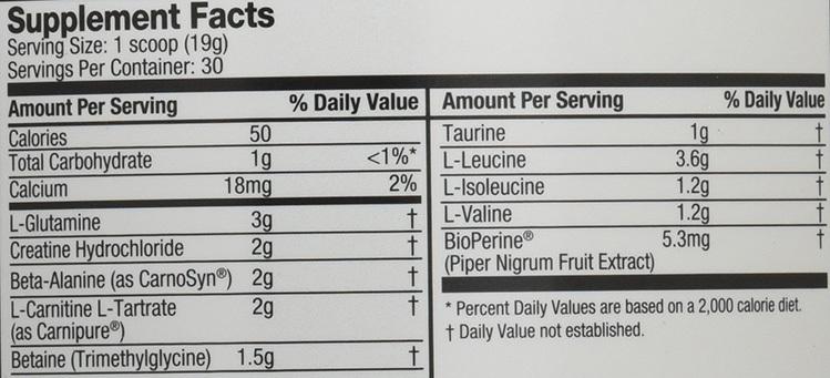 pre jym ingredients review