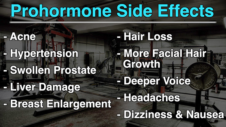 prohormones side effects