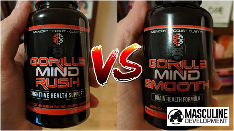 gorilla mind smooth vs mind rush
