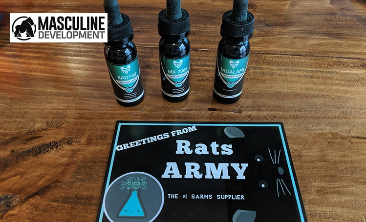 rats army SARMs vials